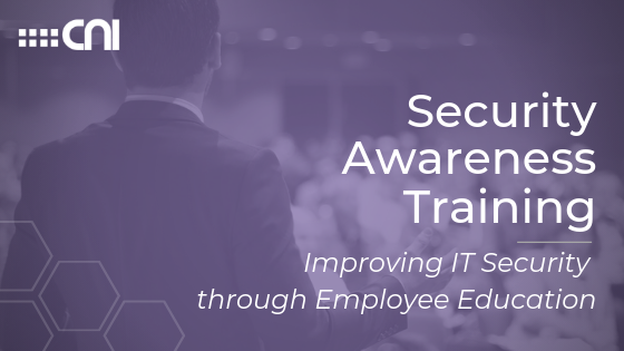 Security Awareness Training - Creative Network Innovations - Blog Cover