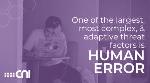 Data Breach Human Error Security Awareness - Creative Network Innovations