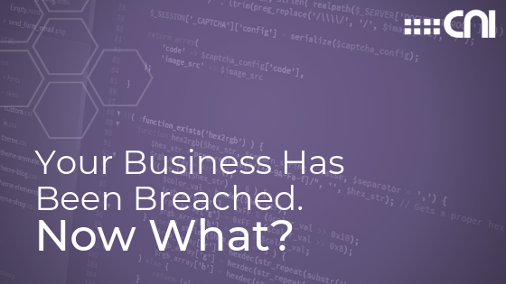 Business Data Breach - Blog Header - Creative Network Innovations