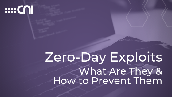 Zero-Day Exploits - Creative Network Innovations - Blog Cover
