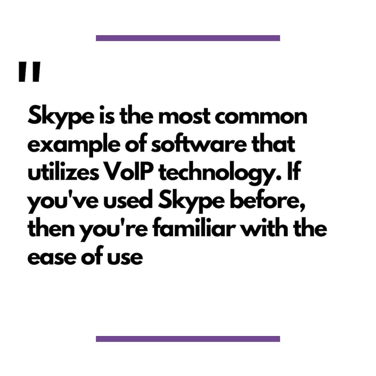 Skype Blockquote