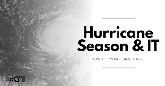 Hurricane Season & IT